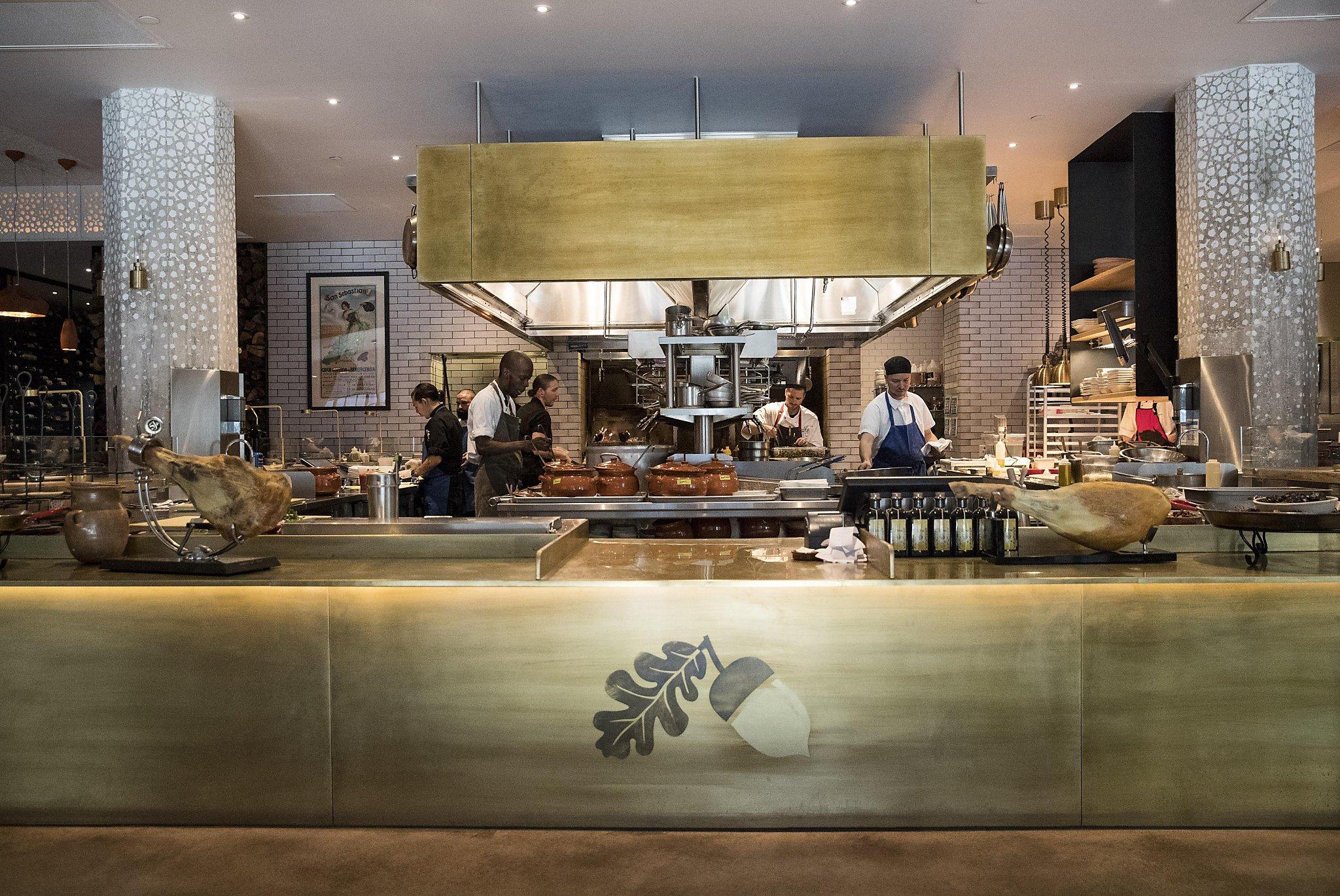 Uncategorized Spanish Restaurant Design bellota restaurants reign of spain in decor design dining san francisco chronicle