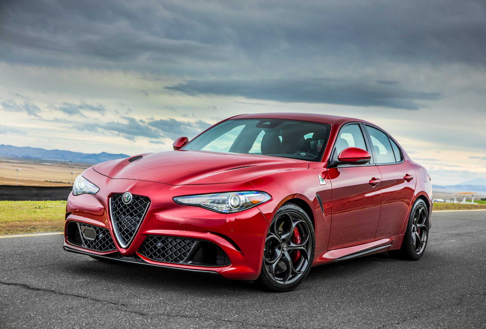 Alfa's sexy new Giulia is the four-door that fits like an Italian suit