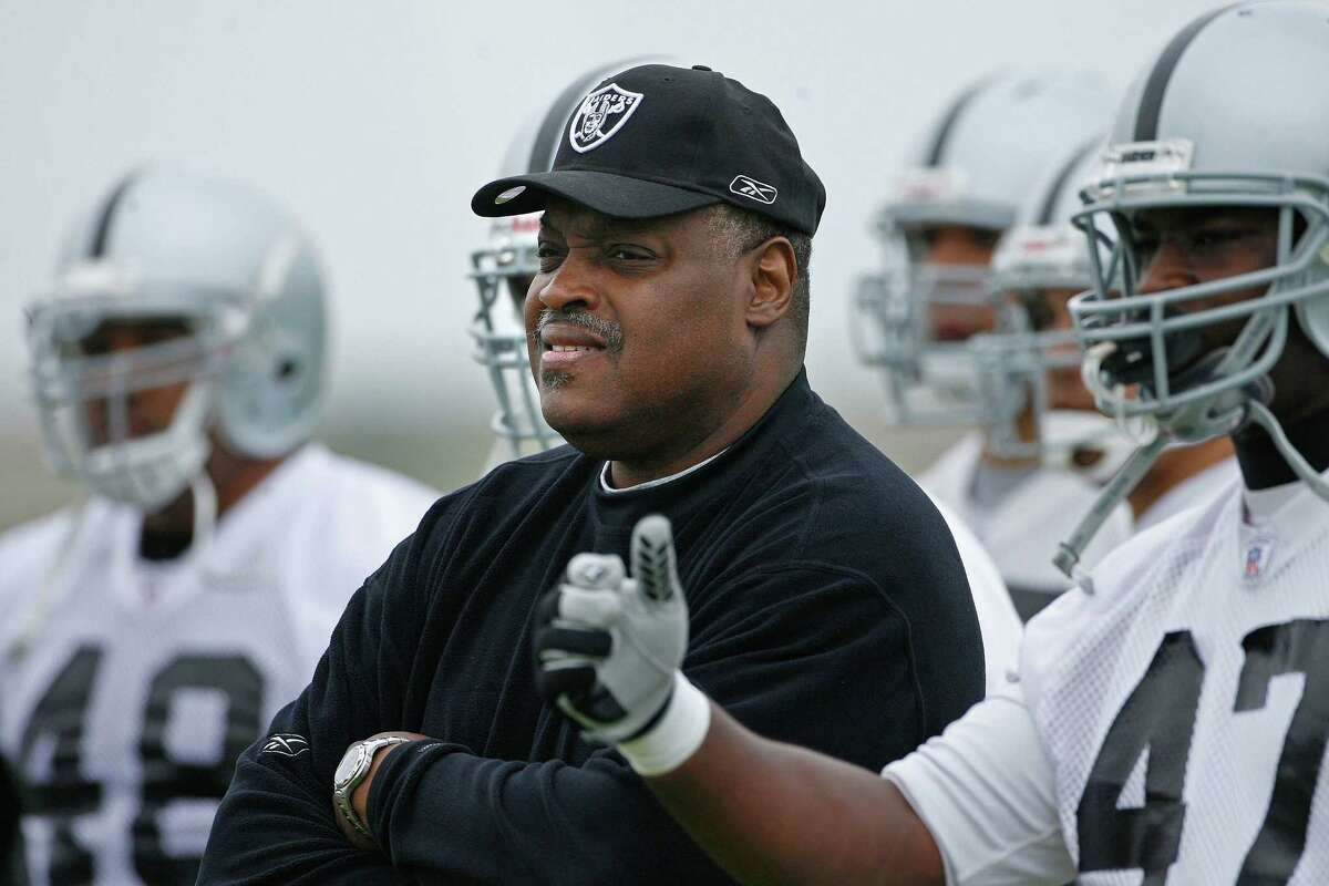 The Raiders' Art Shell was the first black head coach in the NFL.