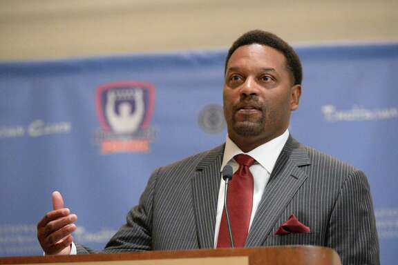 "Texas A&M's Kevin Sumlin says ""boosters and influencers"" are big hurdles for black coaches."