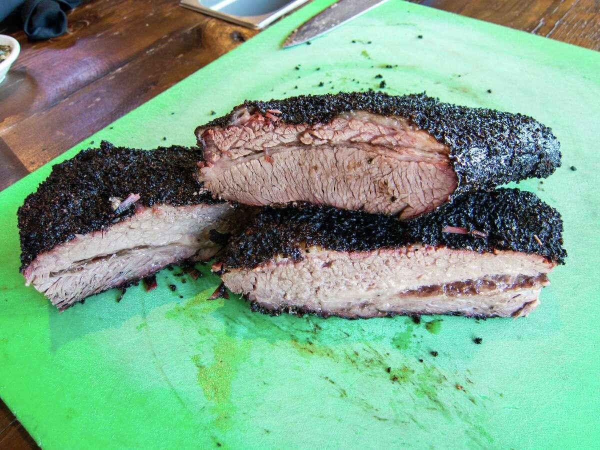 Brisket at Texas Jack's Barbecue in Arlington, Virginia
