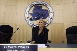 Although she is no longer president of the South San Antonio Independent School District board of trustees, Connie Prado still wields significant power in the district.