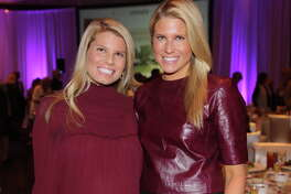 Natalie Kirklin and Allie Fields at the inaugural Triumph Luncheon benefiting The Women's Home.
