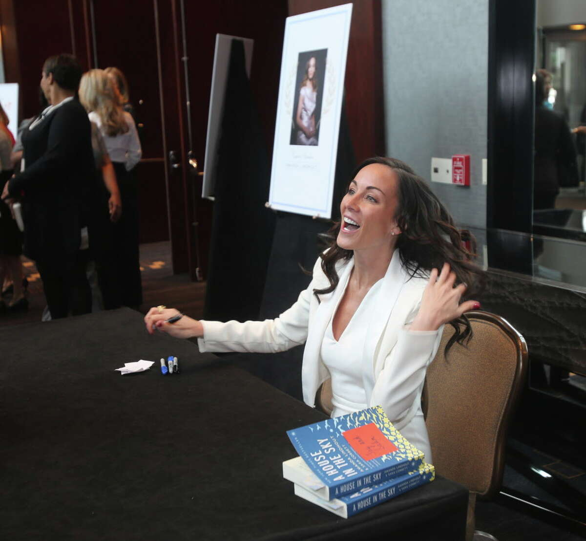 Speaker Amanda Lindhout at the inaugural Triumph Luncheon benefiting The Women's Home.
