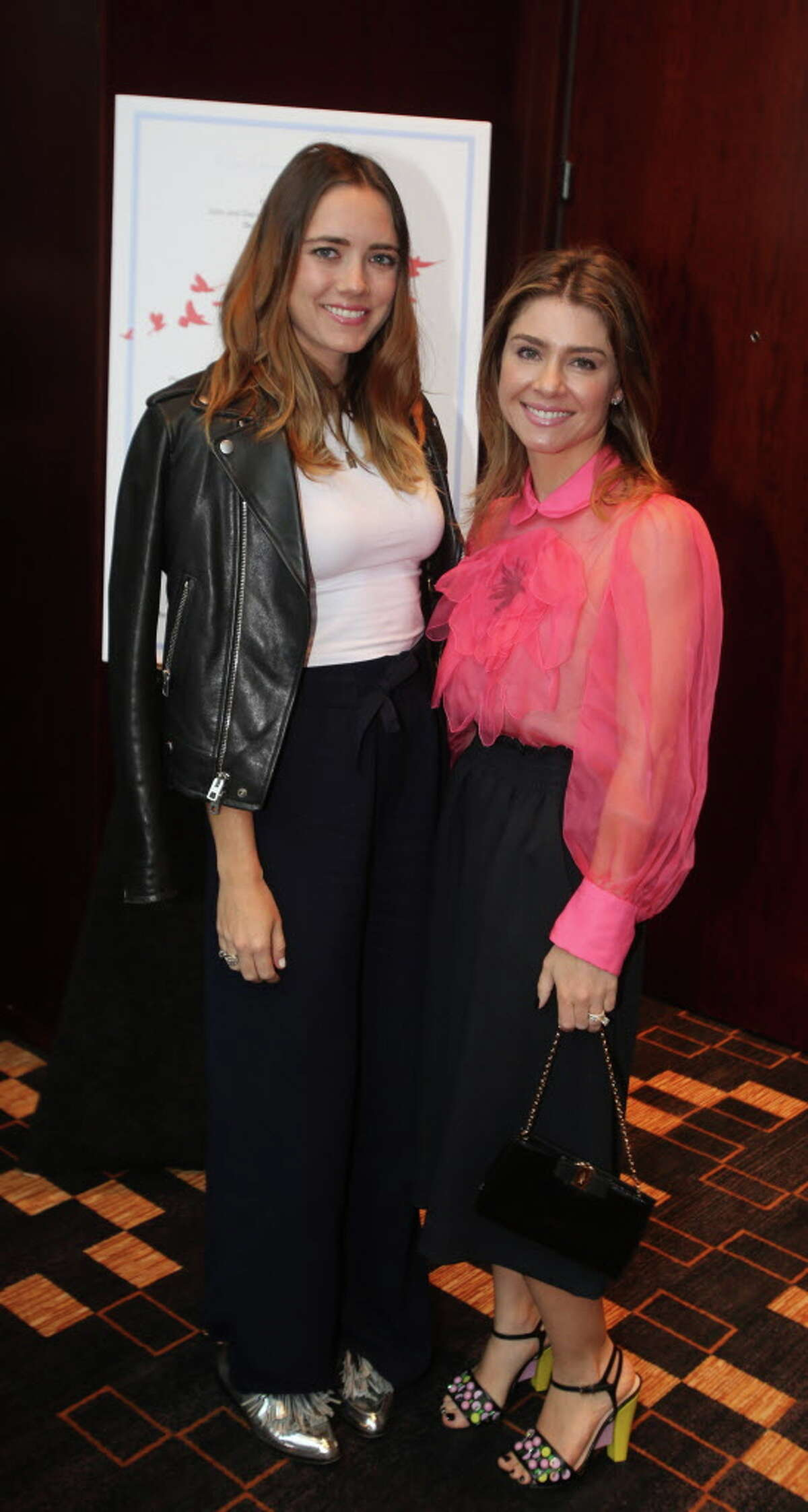 Skye Truax and Rachael Volz at the inaugural Triumph Luncheon benefiting The Women's Home.