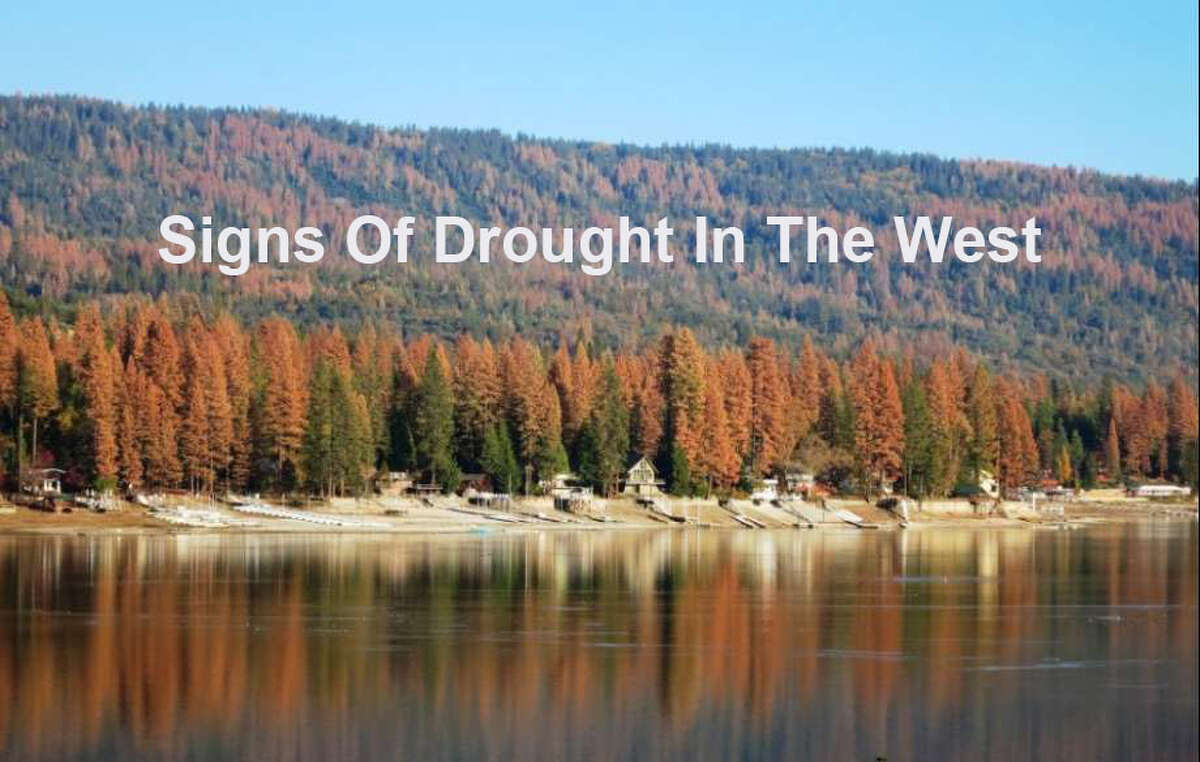 A look at some of the most striking images of the how years of drought are changing landscapes in the western United States.