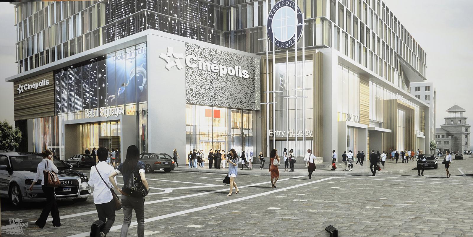 Steel Point Luxury Cinemas Moved Downsized Newstimes