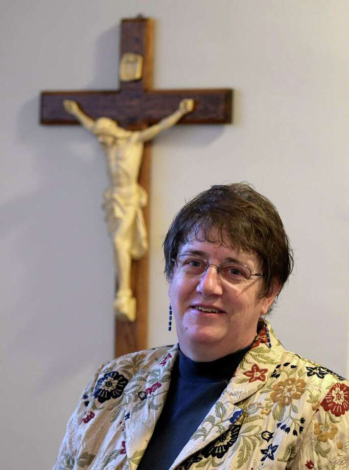 Dorothy Sokol in her offices at St. Francis of Assisi Wednesday Nov. 16, 2016 in Albany, N.Y. (Skip Dickstein/Times Union) Photo: SKIP DICKSTEIN / 20038754A