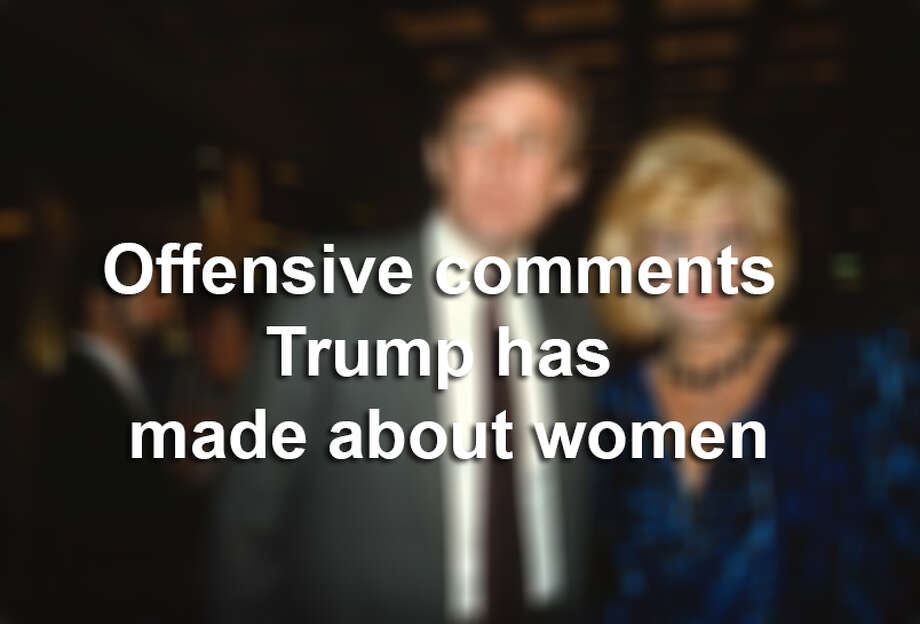 U.K. media outlet The Telegraph has compiled a lengthy timeline of  Donald Trump's commentary on women, whether they be specific or general. Photo: Mysa