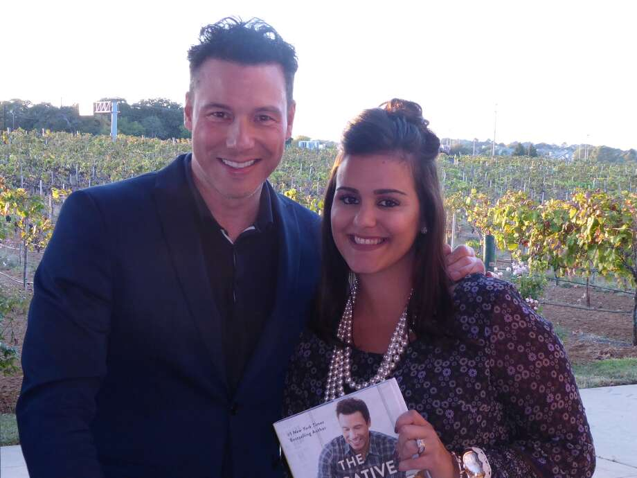 """Emily Roberts, of Willis, was recognized during Plexus Worldwide's """"Leaders Retreat"""" Oct. 27-29 at the Gaylord Texan Resort in Grapevine. She was congratulated on the success of her home-based business and invited to an exclusive Celebrity Chef Tasting with Rocco DiSpirito. Photo: Submitted"""