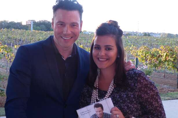 """Emily Roberts, of Willis, was recognized during Plexus Worldwide's """"Leaders Retreat"""" Oct. 27-29 at the Gaylord Texan Resort in Grapevine. She was congratulated on the success of her home-based business and invited to an exclusive Celebrity Chef Tasting with Rocco DiSpirito."""
