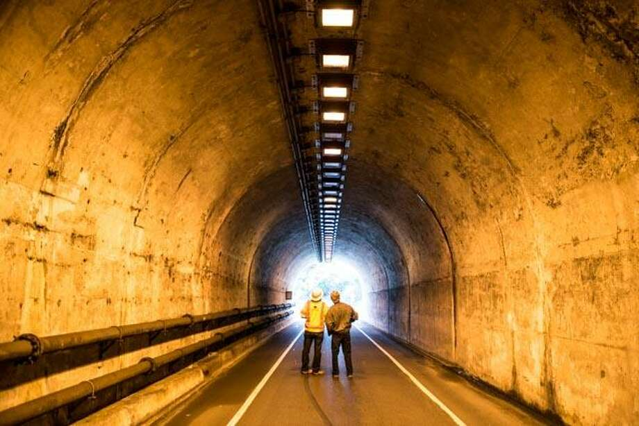 "The Baker-Barry Tunnel in Marin will close down seven days a week, for an ""extended preservation project"" starting Jan. 2, officials said. Photo: Golden Gate National Recreation Area / Golden Gate National Recreation Area"