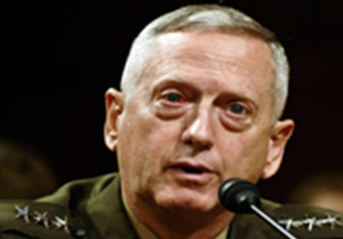General James Mattis testifying before Congress