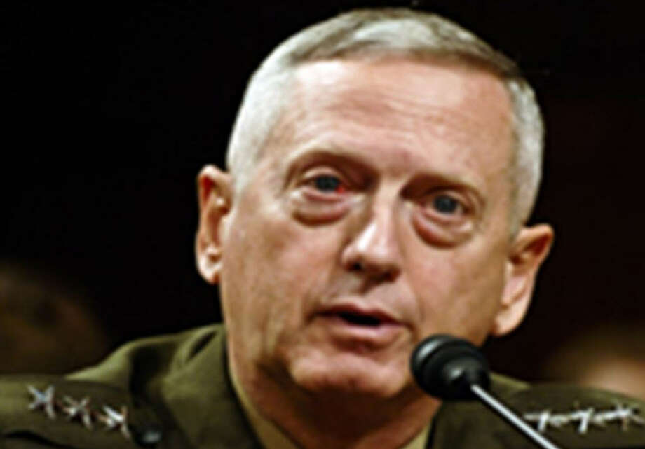 General James Mattis testifying before Congress