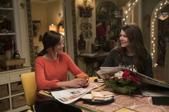 "Alexis Bledel, Lauren Graham in ""Gilmore Girls: A Year in the Life."""