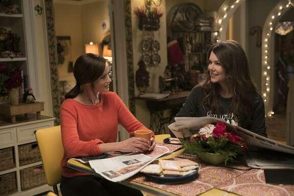 "Alexis Bledel, Lauren Graham in ""Gilmore Girls: A Year in the Life."""