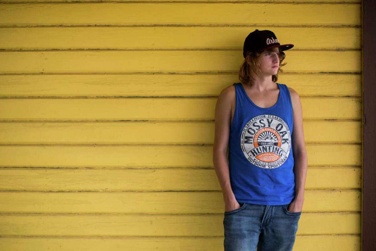 Alston Jeffus, 16, has embraced the conservative culture of East Texas. He loves to camp, hunt and fish.