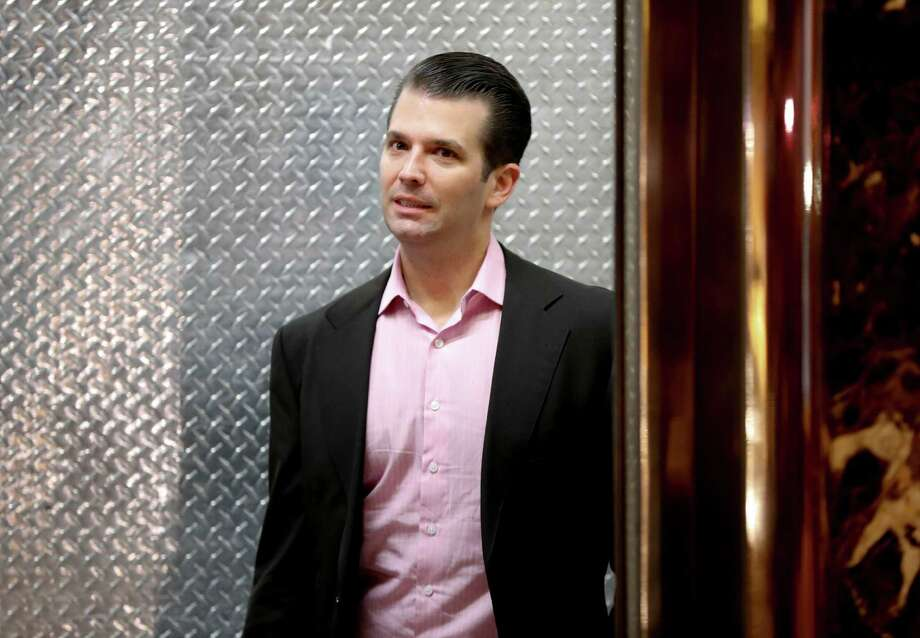 "Donald Trump Jr. praised white-nationalist blogger Mike Cernovich for ""breaking"" a story about former national security adviser Susan Rice.  Photo: Carolyn Kaster, STF / Copyright 2016 The Associated Press. All rights reserved."