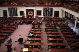 The Texas House of Representatives Chambers at the State Capitol in Austin. (File Photo)
