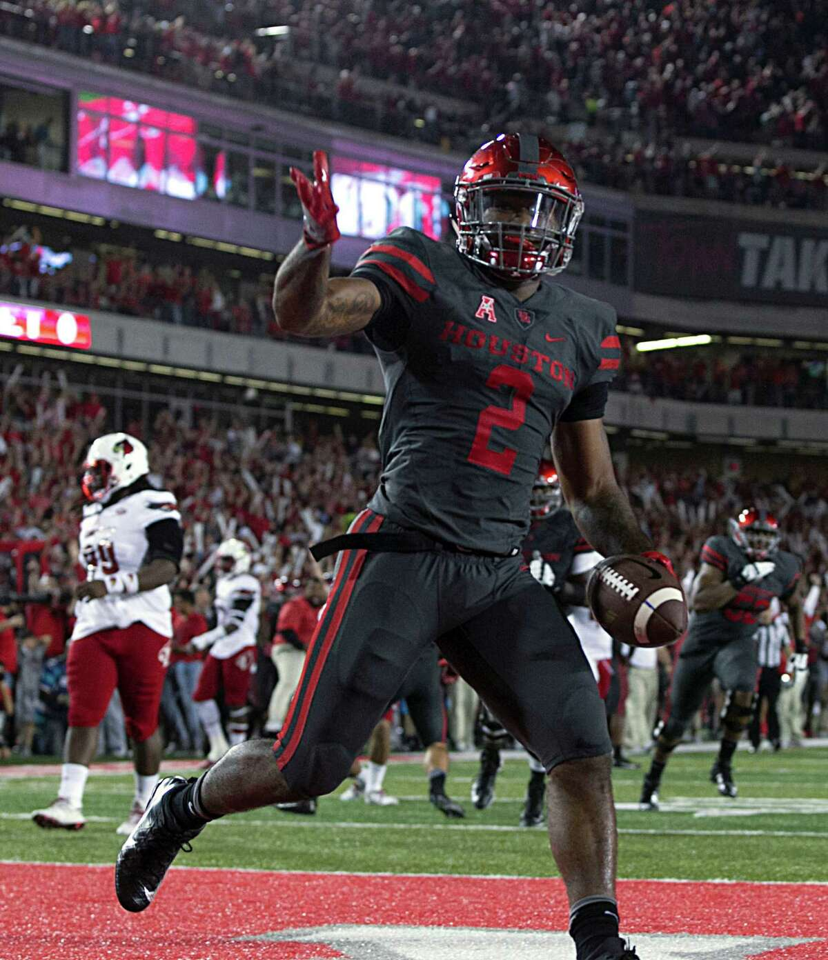 Running back Duke Catalon and the Cougars are hoping for another New Year's Six bowl invitation.