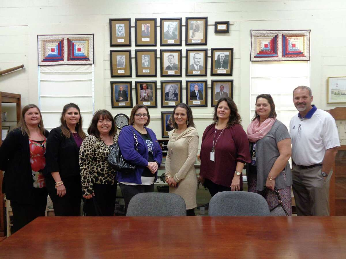 Dayton ISD Administrators�' Academy visited Dayton museums on Nov. 16. The group included Leah Miller, Melinda Crawford, Suzanne Soto, Nellie Tinkle, Jessica Ott, Shanna McCracken, Jennifer McCracken and Jeff Nations.