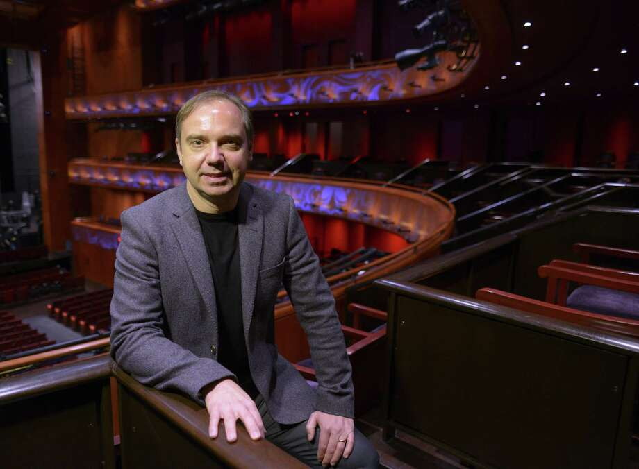 San Antonio Symphony Music Director Sebastian Lang-Lessing led an all-orchestral program Friday night with music by Franz Liszt, Richard Strauss, Richard Wagner and Maurice Ravel. Photo: Billy Calzada /San Antonio Express-News / San Antonio Express-News