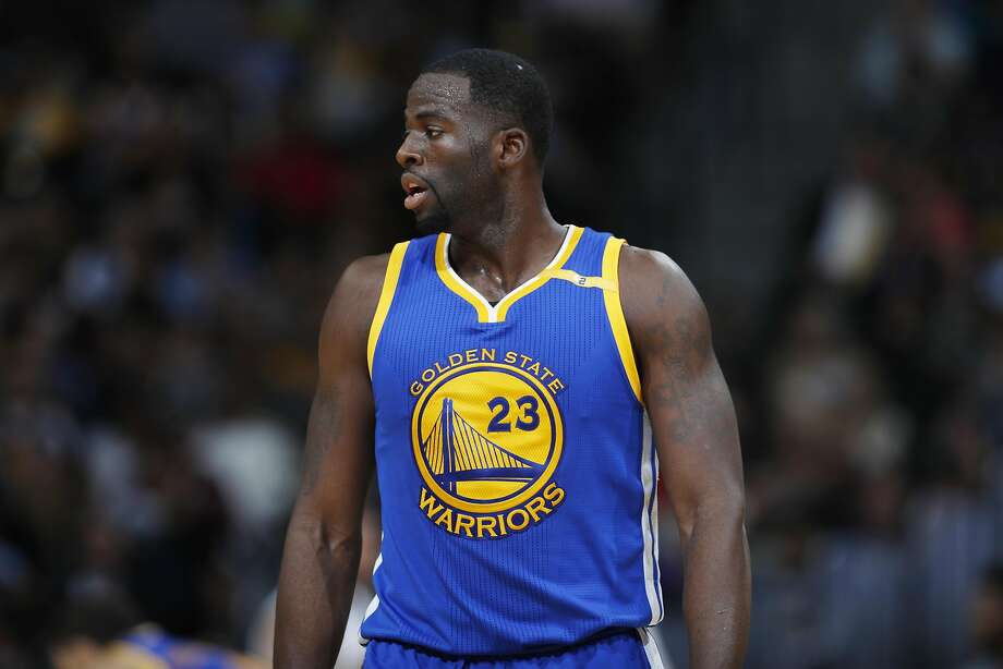 Golden State Warriors forward Draymond Green (23) in the second half of an NBA basketball game Thursday, Nov. 10, 2016, in Denver. The Warriors won 125-101. (AP Photo/David Zalubowski) Photo: David Zalubowski, Associated Press