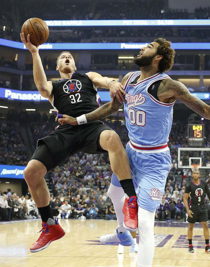 Blake Griffin's 29 points led the Clippers over Sacramento 121-115. Photo: Rich Pedroncelli, Associated Press