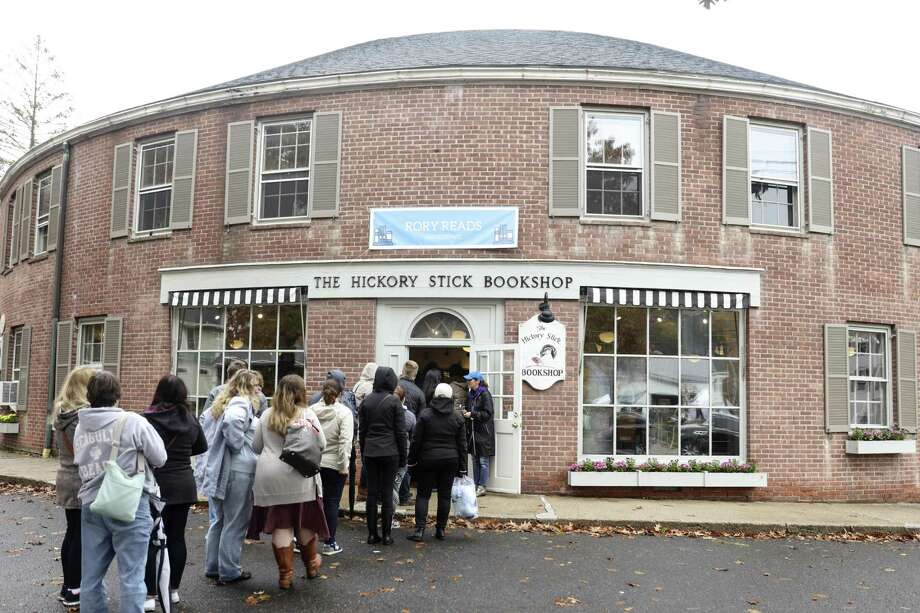 "The Hickory Stick Bookshop in Washington, Conn., Oct. 22, 2016. The shop hosted a signing for the cookbook ""Eat Like a Gilmore"" during a fan festival that drew more than 1,300 devotees to the village that inspired the setting of the cultishly popular ""Gilmore Girls"" television dramedy. (Rebecca Smeyne/The New York Times) Photo: REBECCA SMEYNE / NYT / NYTNS"
