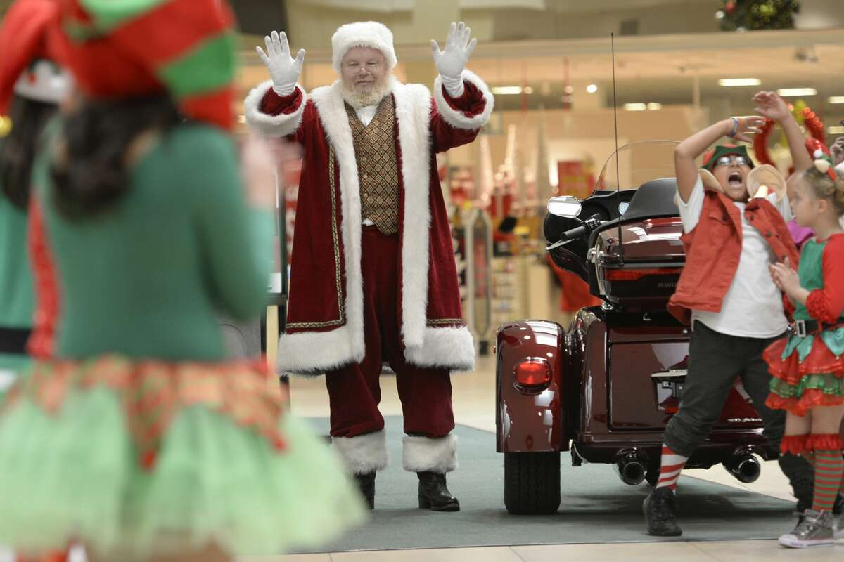 Santa is coming to Midland Park Mall Friday and will remain there until Christmas Eve.