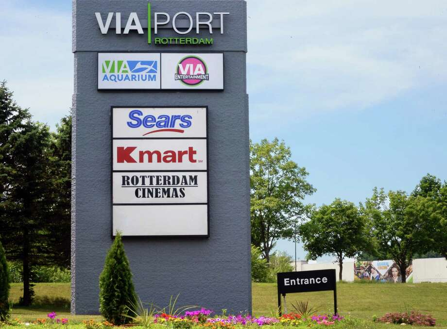 Entrance to Via Port Rotterdam, formerly the  Rotterdam Square Mall Tuesday July 12, 2016 in Rotterdam,NY.  (John Carl D'Annibale / Times Union) Photo: John Carl D'Annibale / 20037290A