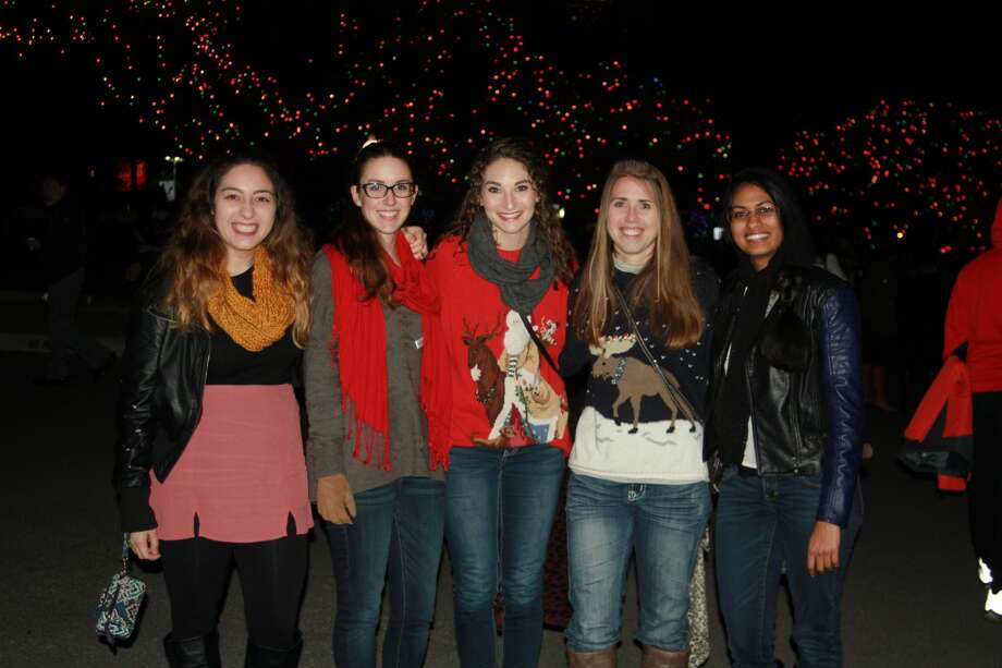 Featuring nearly one million lights, Light the Way at the University of the Incarnate Word lit up the entire campus Saturday night, Nov. 19, 2016. Photo: By Kody Melton, For MySA