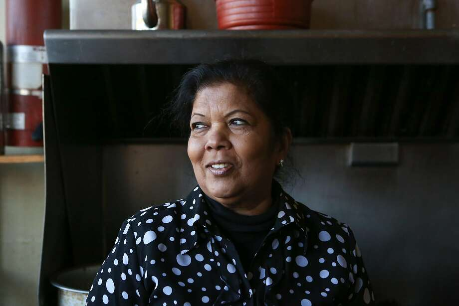 Saras Rao, chef and owner of Curry Corner in Hayward, at her restaurant. Photo: Amy Osborne, Special To The Chronicle