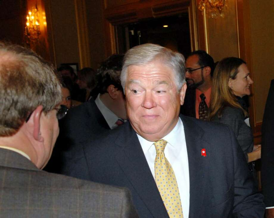 Mississippi Gov. Haley Barbour, during the 32nd Prescott Bush Awards Dinner at Stamford Plaza Hotel, Stamford, Wednesday, May 19, 2010. Photo: Bob Luckey / Greenwich Time