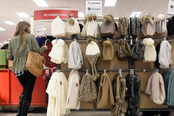 A woman shops for winter apparel at a Target store in Emeryville, Calif. on November 19, 2016.