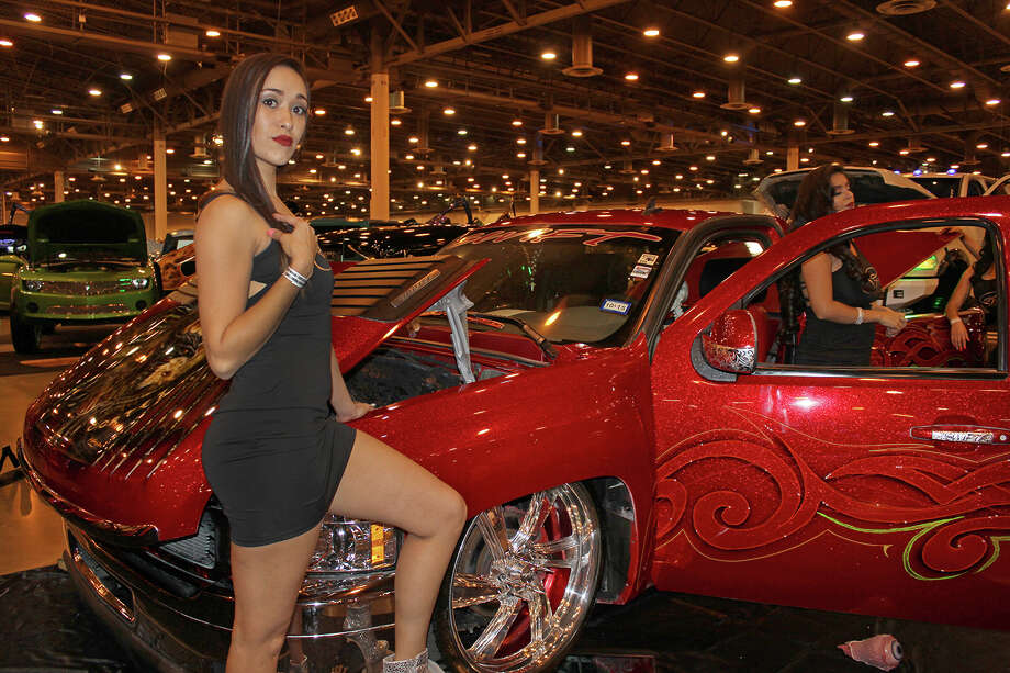 The Los Magnificos Car Show and Music Festival showcased some of Texas' most elaborate vehicles on Sunday, Nov. 20, 2016 at NRG Park in Houston, Texas. Photo: Jorge Valdez / Houston Chronicle