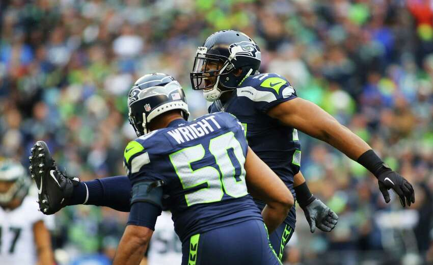 'HE'S GONNA BE A SEAHAWK FOR LIFE' Wright has no doubts about his linebacker partner's future in Seattle. In fact, he says he's
