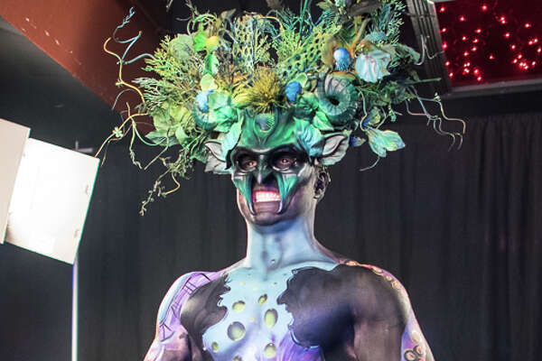 Things got surreal at the Beyond the Canvas body painting event Saturday, Nov. 19, 2016, at Club Rio where 30 artists competed for cash prizes and awards.