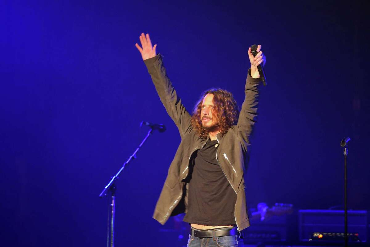 Temple of the Dog, with lead singer Chris Cornell of Soundgarden, performs at the Paramount Theater in Seattle, Sunday, Nov. 20, 2016. Cornell formed the