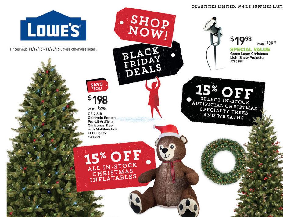 Lowe S 2016 Black Friday Ad Released See All 8 Pages
