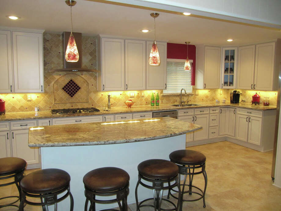 This kitchen was remodeled by Divine Renovation. Photo: Courtesy Of Divine Renovation