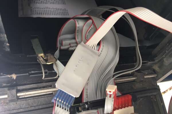 A trend of gas skimmers has taken over Orange, as of early November. Skimmers are fraud devices designed to secretly swipe a person's        information when they insert a debit or credit card into card slots — they can't be seen outside the pump.