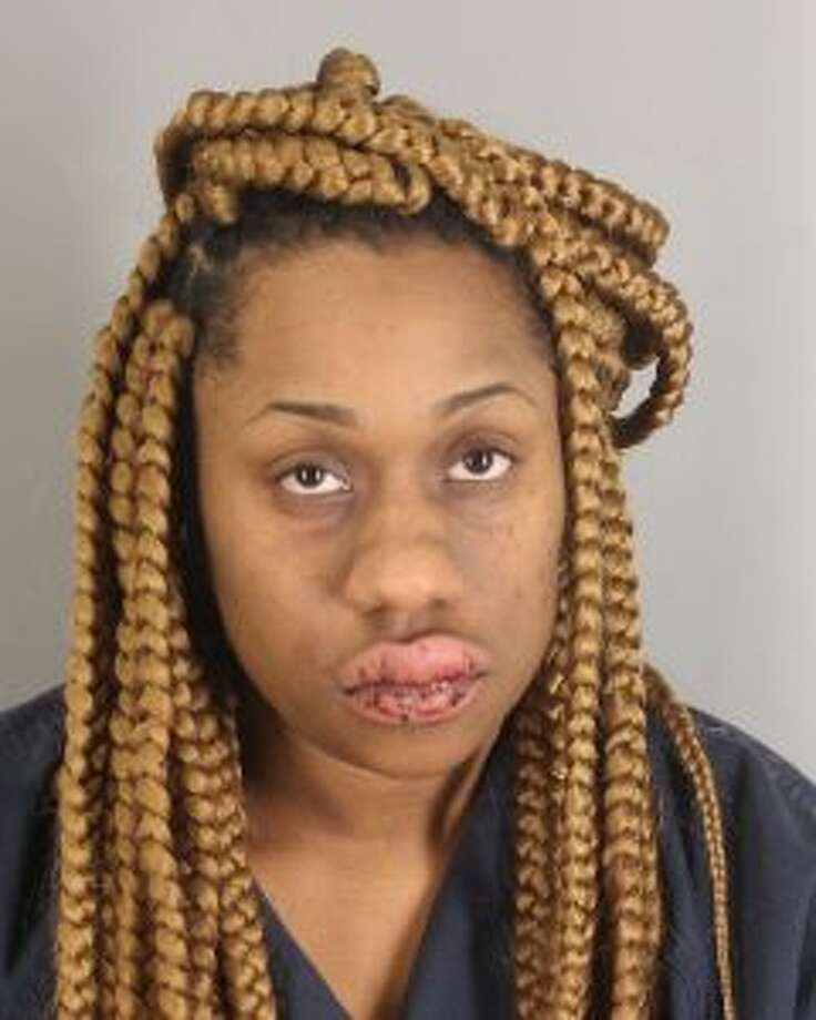 Joinae Loreal Powell, 25, was arrested for DWI and evading arrest early Monday morning. Photo: Jefferson County Sheriff's Office