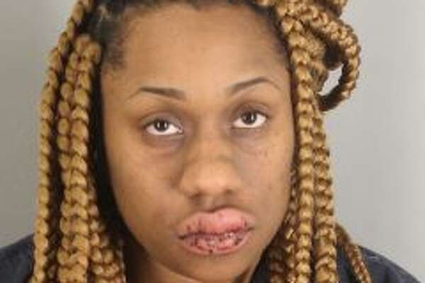 Joinae Loreal Powell, 25, was arrested for DWI and evading arrest early Monday morning.