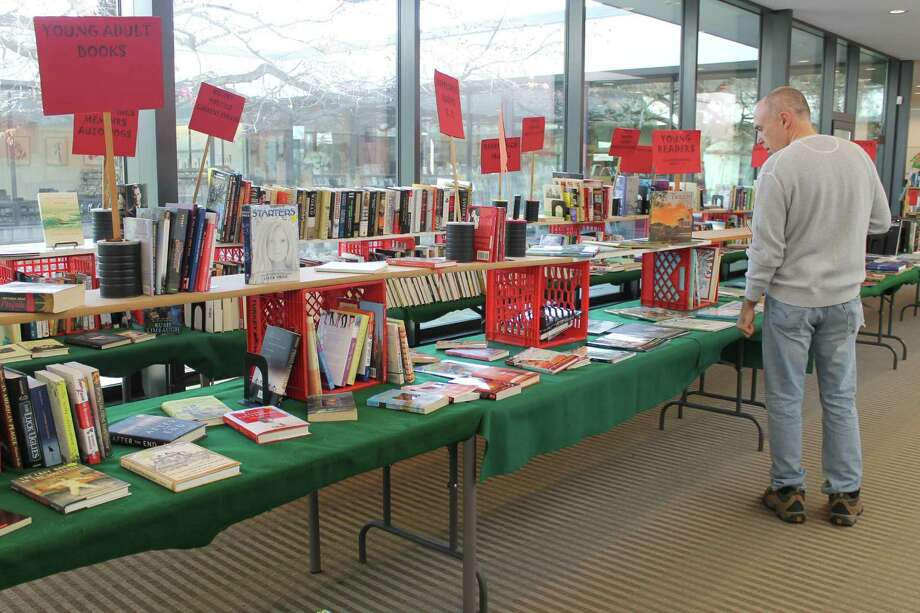Last year's Holiday Book Sale, which gets underway on Wednesday, Nov. 30 beginning at noon and runs through Jan. 2. Photo: Contributed Photo