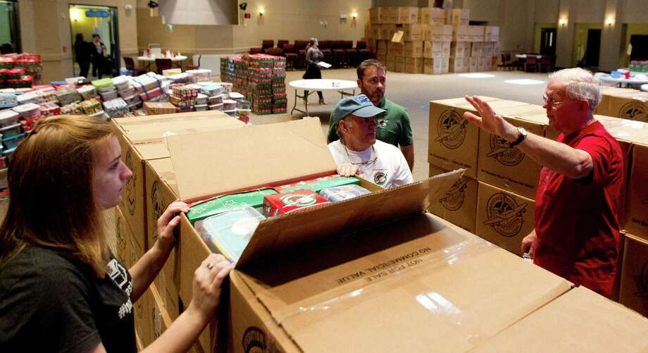 Volunteers send shoeboxes of joy to developing world with ...