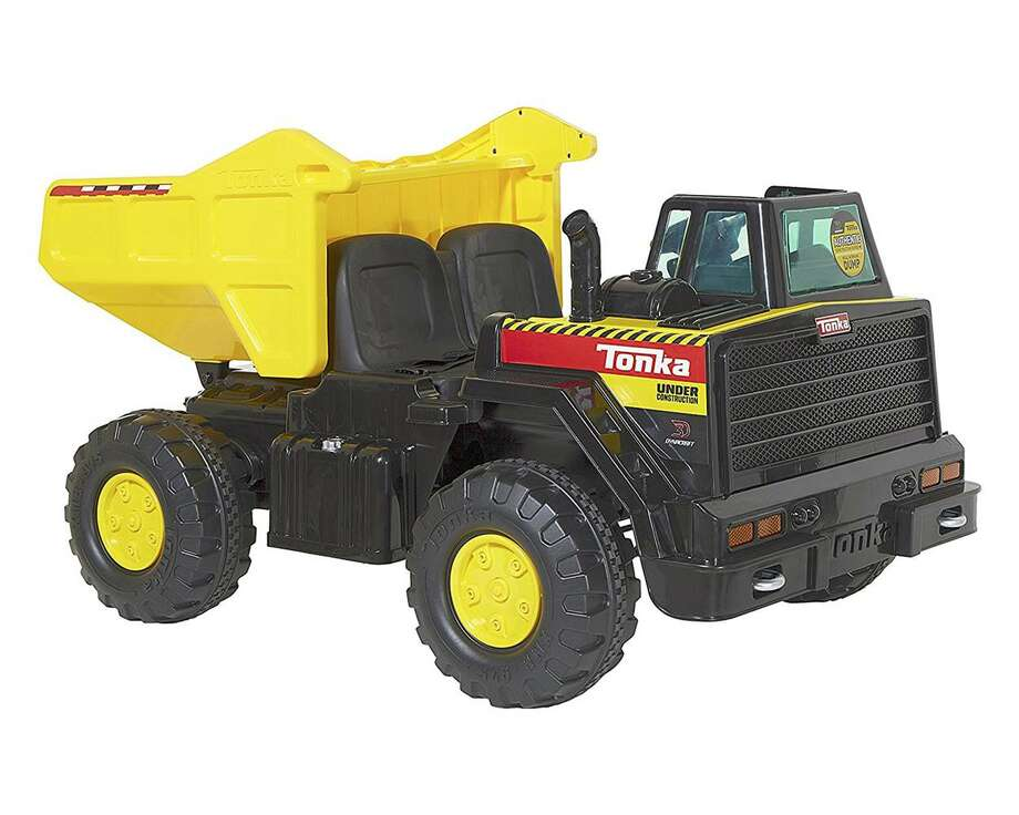 A Tonka 12-volt dump truck has been pulled from the shelves at Toys 'R' Us after a fire in Washington state. Photo: Tonka