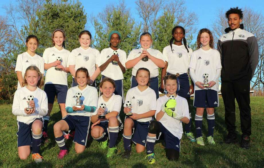 The Wilton U-11 Gold team won the league championship in the Fairfield County Youth Soccer League. Photo: Contributed Report / Hearst Connecticut Media / Norwalk Hour