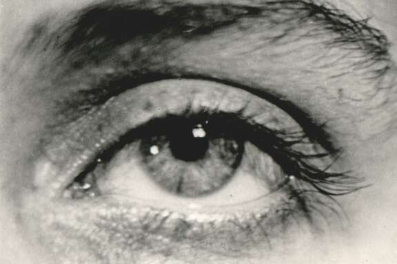 Eye image by Man Ray, quite a swell cook, too