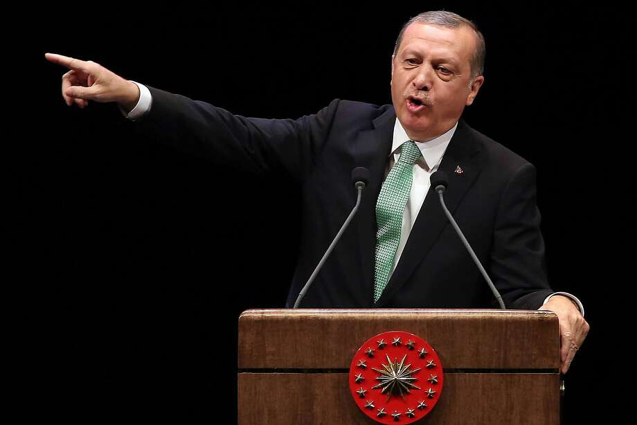 Turkish President Recep Tayyip Erdogan has guided an unprecedented security crackdown. Photo: ADEM ALTAN, AFP/Getty Images